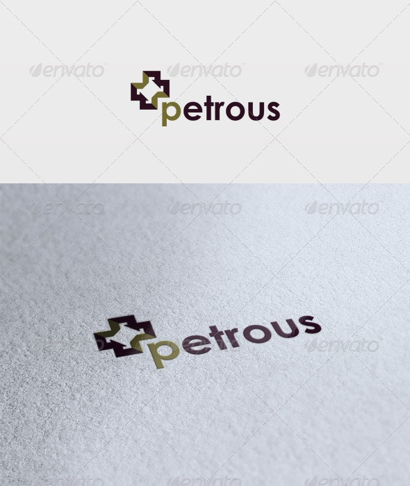 Petrous Logo - Vector Abstract