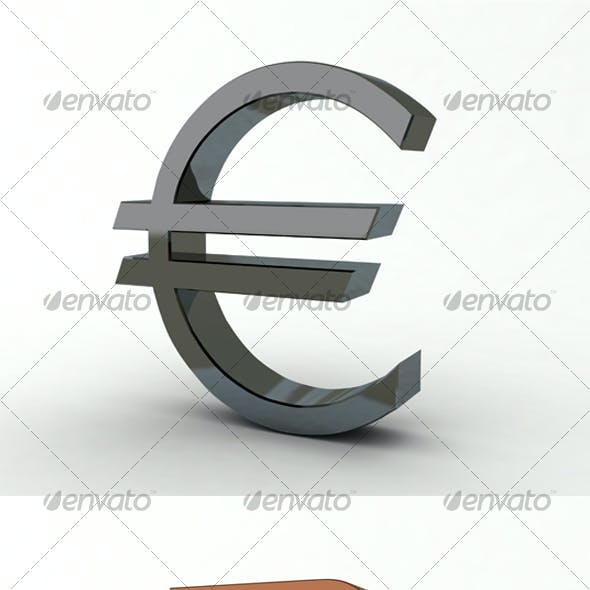 Dollar, Euro, Ruble and Pound Sterling