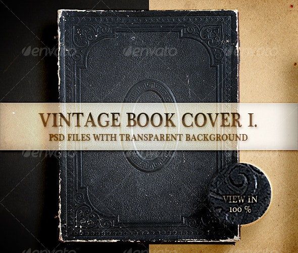 Vintage Book Cover I - Home & Office Isolated Objects