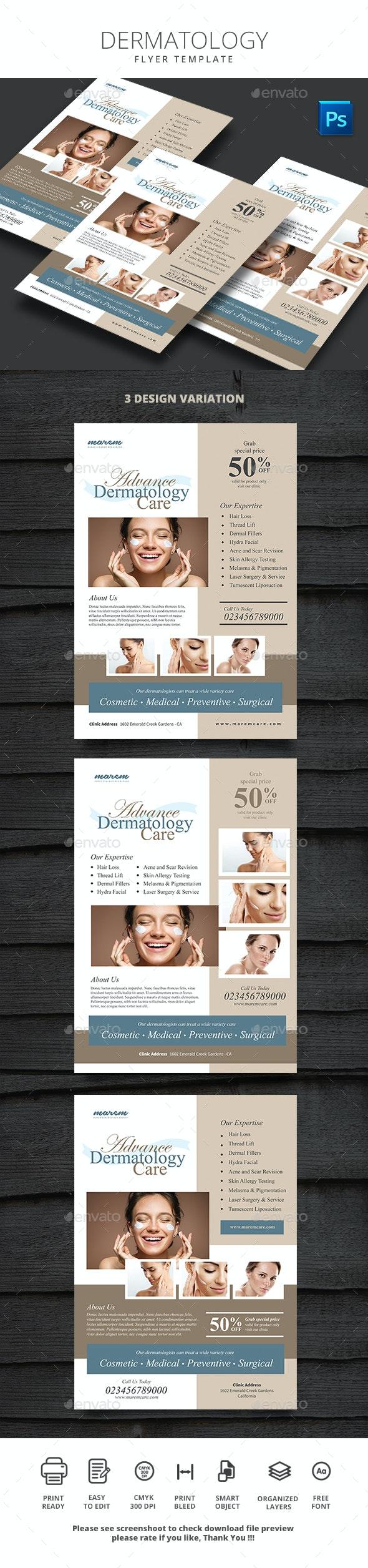 Dermatology Flyer - Commerce Flyers