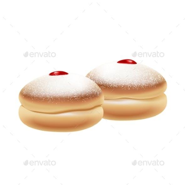 Hanukkah Donuts Icon