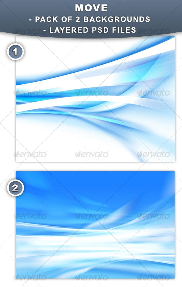 Move - Backgrounds for web and print - Abstract Backgrounds