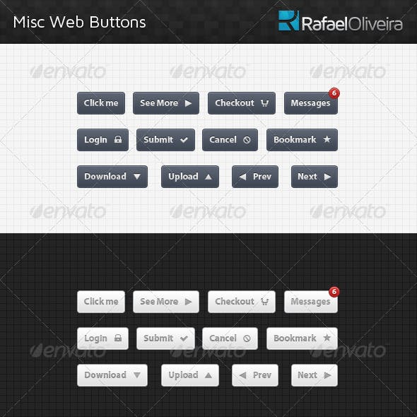 Misc Web Buttons