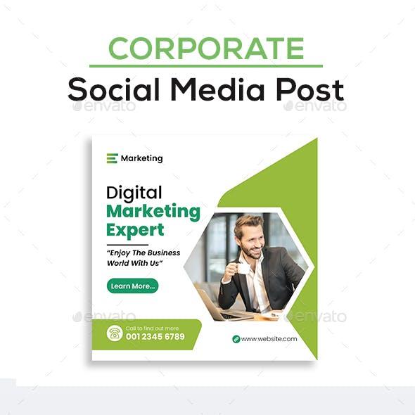 Social Media Post Design Template