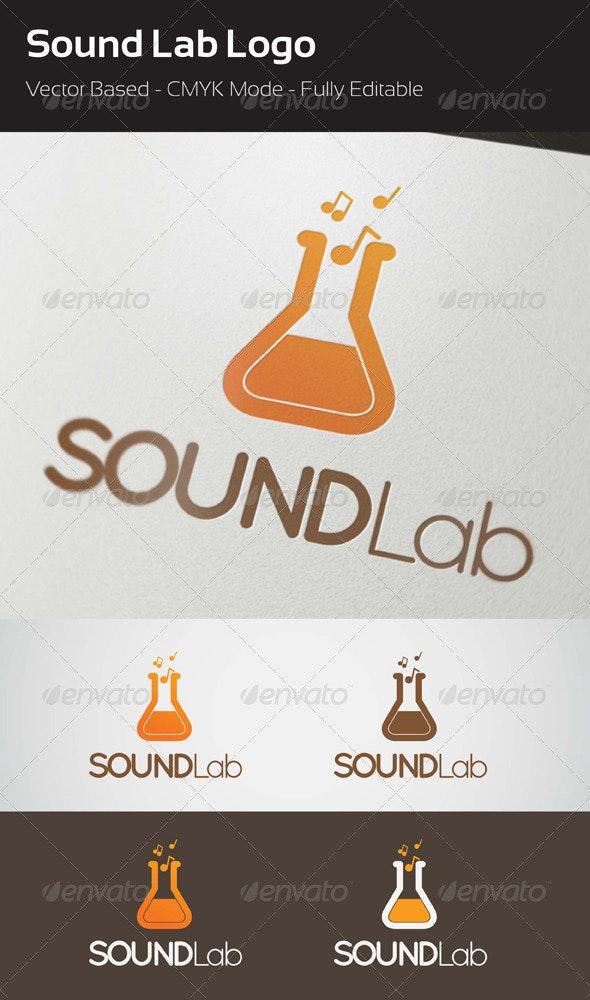 Sound Lab Logo - Objects Logo Templates
