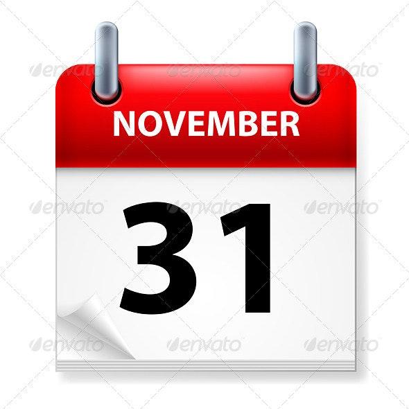 Calendar - Miscellaneous Vectors