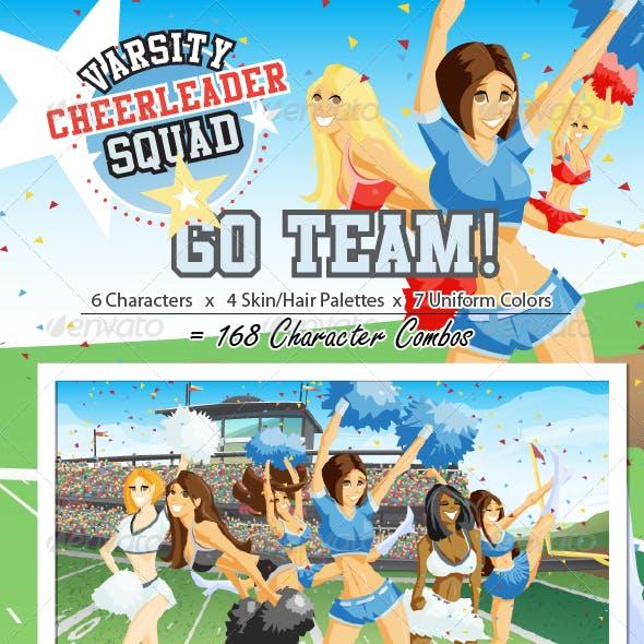 Varsity Cheerleader Squad
