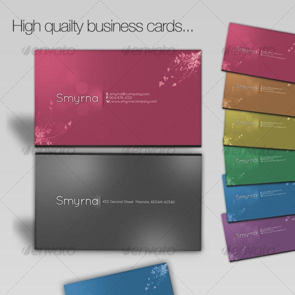 Elegancy Business Cards [6 colors]