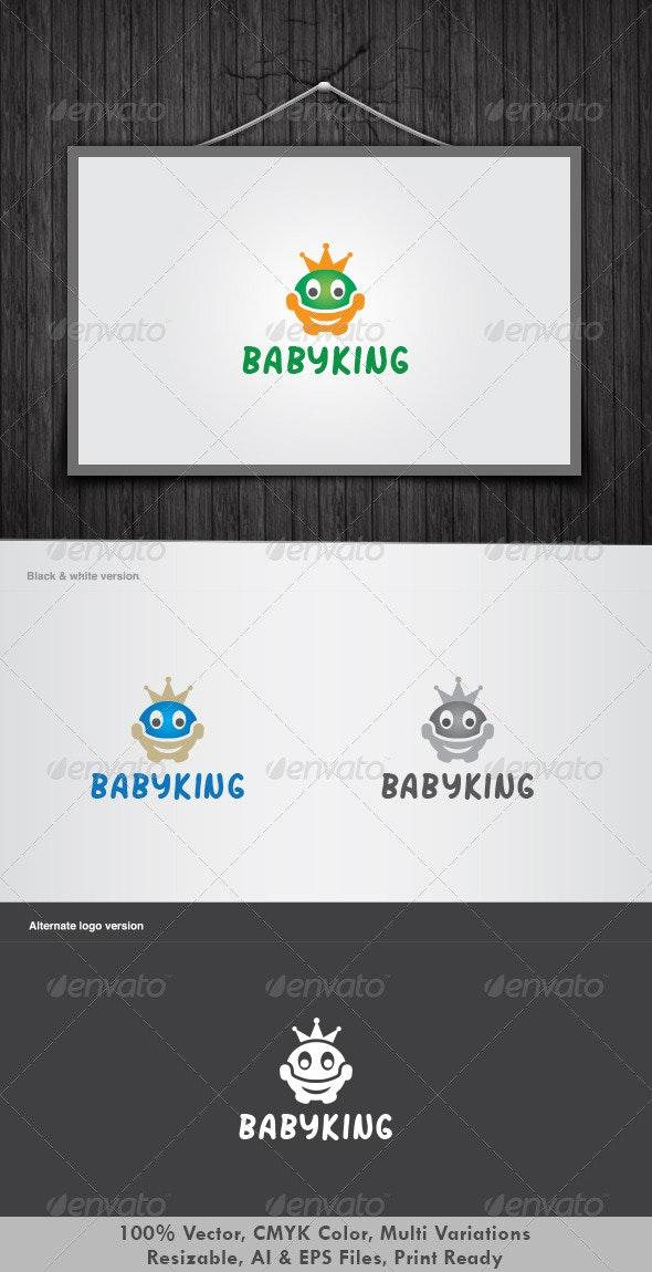 Baby King Logo - Humans Logo Templates