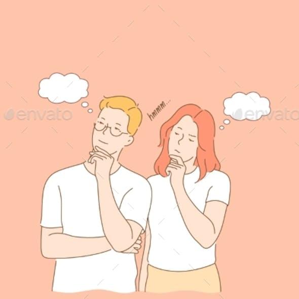Couple Thout Dream Concept