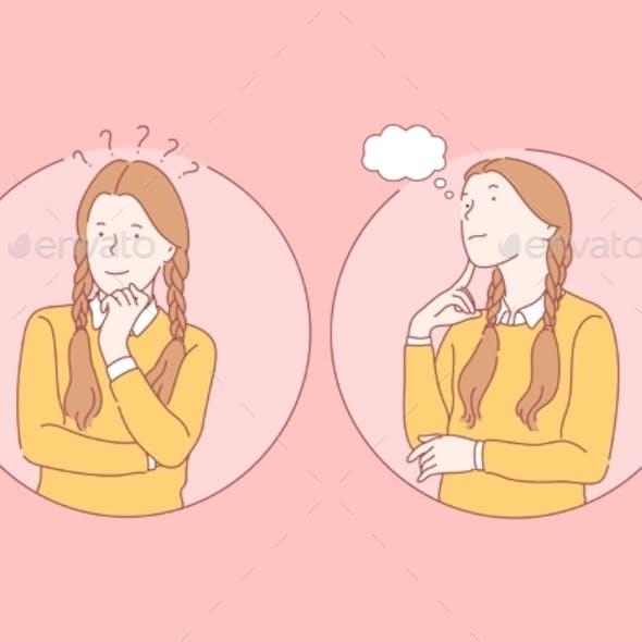 Thinking Pupil Dream Set Concept