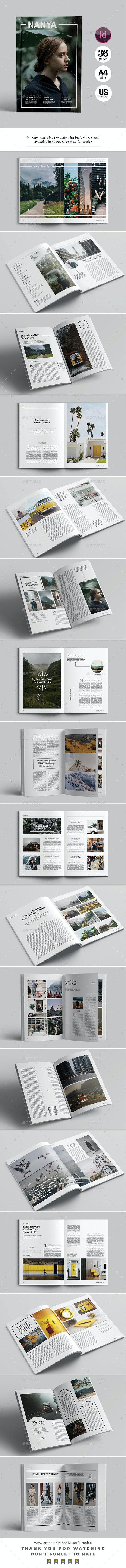 Indie Vibes Magazine - Magazines Print Templates