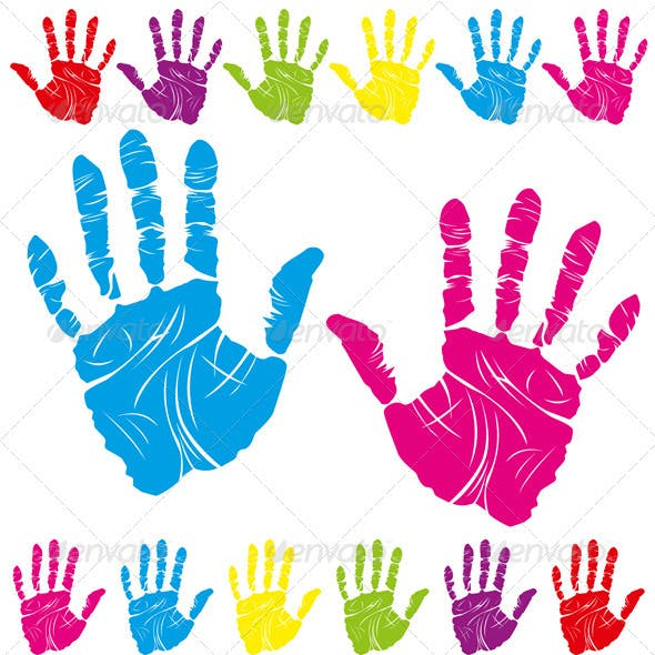 Color Hand Print