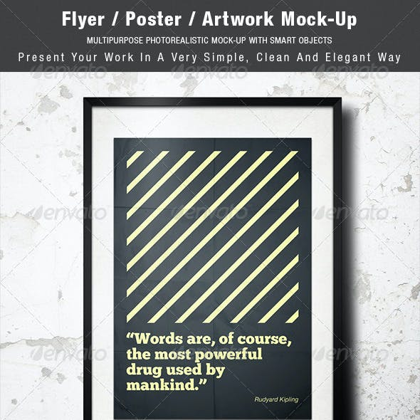 Flyer / Poster / Artwork Mock-up