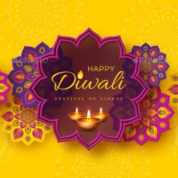 Diwali Festival Holiday Design