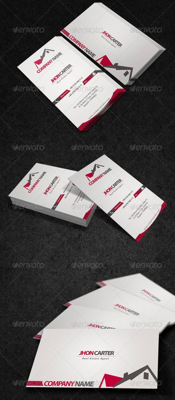 Land Agent Business Card - Creative Business Cards