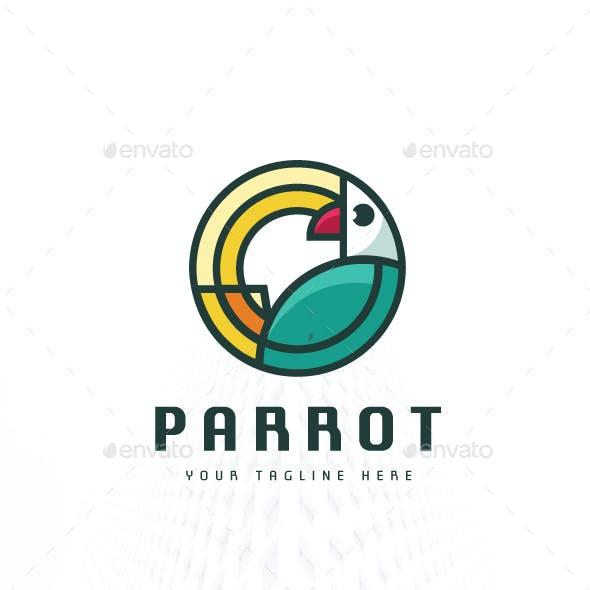 Bird Parrot Logo