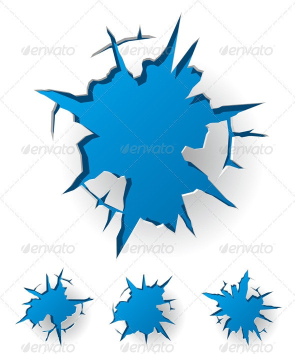 Cracked Background - Decorative Symbols Decorative