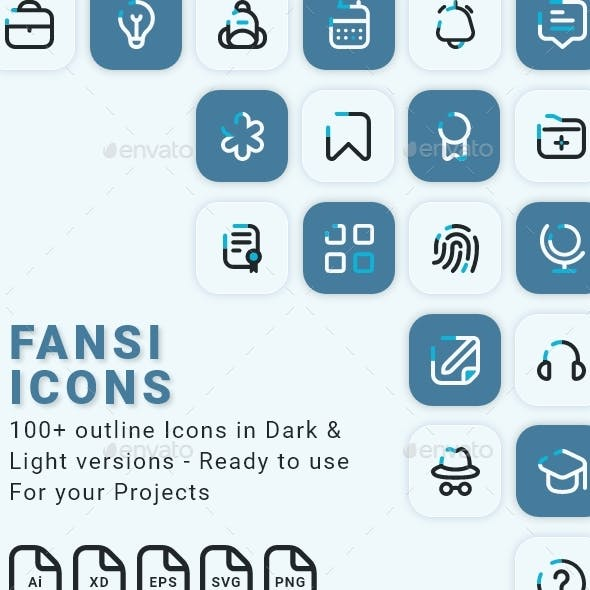 Essential Line Icons for web and mobile projects
