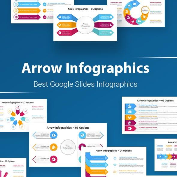 Arrow Infographics Google Slides Template