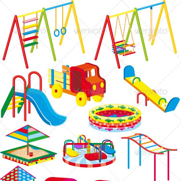 Child playground set