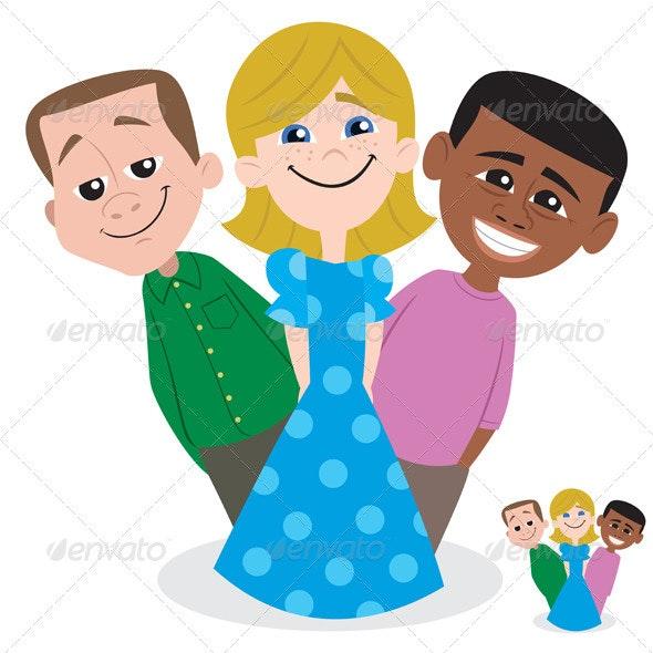 Kids - Characters Vectors