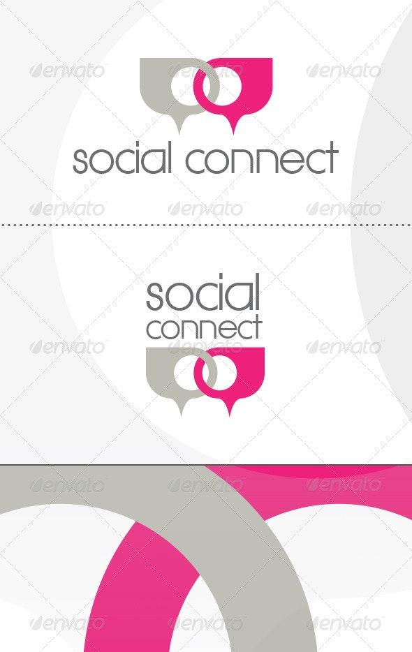 Social Connect Logo - Symbols Logo Templates