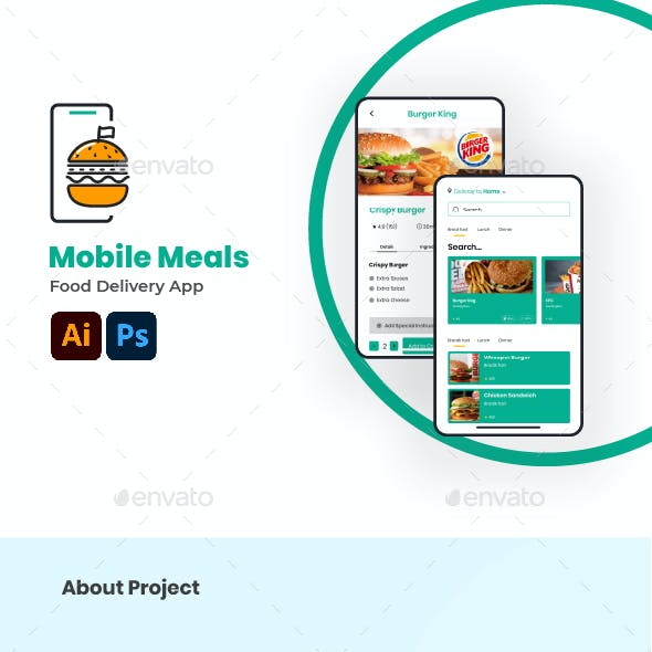 Mobile Meal Food Delivery App