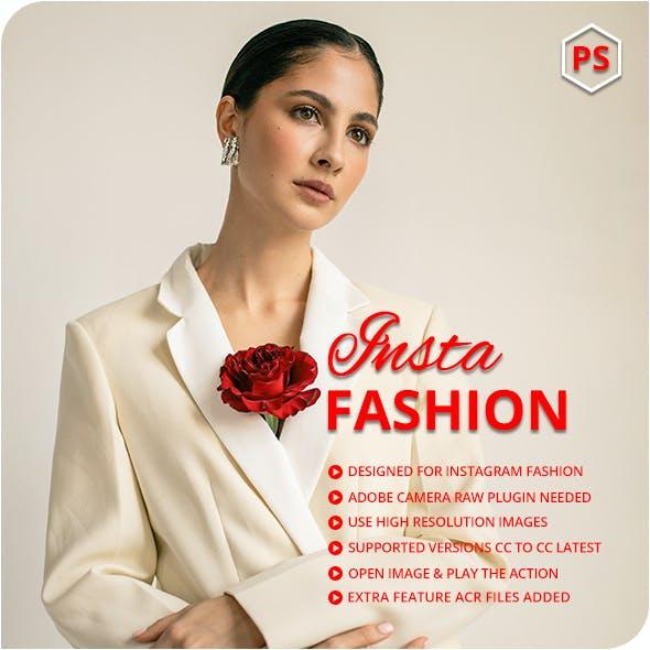 16 Insta Fashion Photoshop Actions