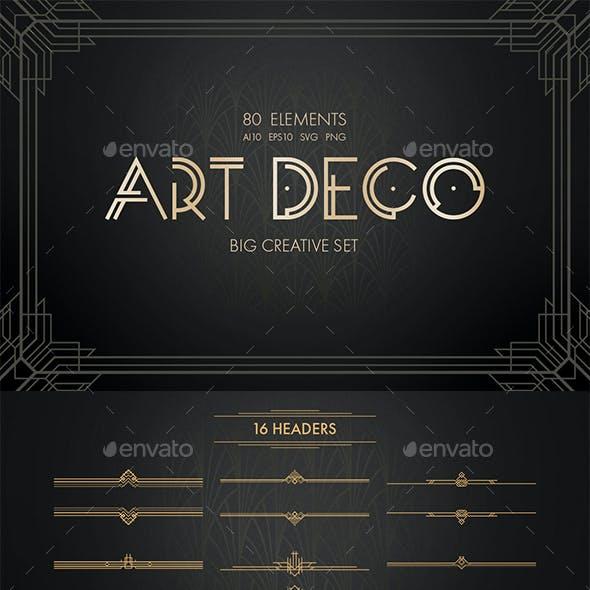 Art Deco Vector Set
