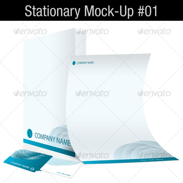 Stationary Mock-Up #01