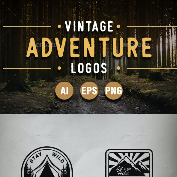 Camping and Outdoor Logo