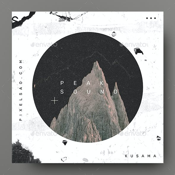 Peak Sound – Music Album Cover Artwork / Youtube Thumbnail Template