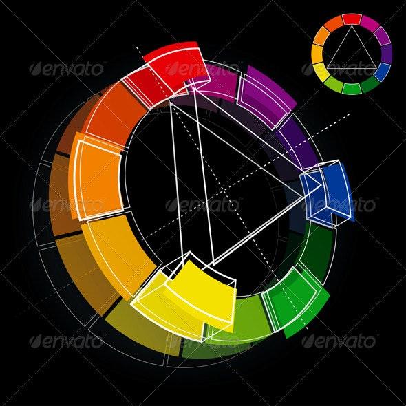 Color Wheel - Miscellaneous Vectors