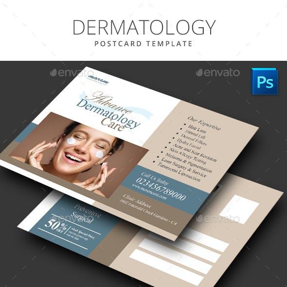 Dermatology Postcard