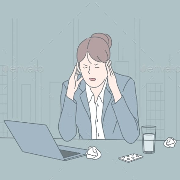 Stress Business Psychological State