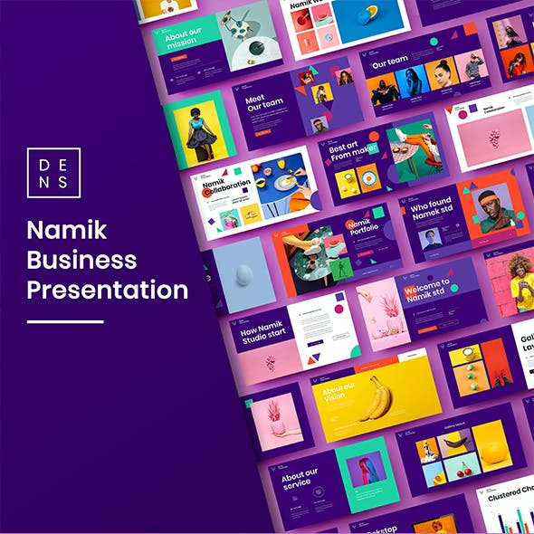 Namik – Business PowerPoint Template