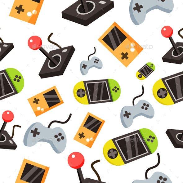 Game Seamless Pattern