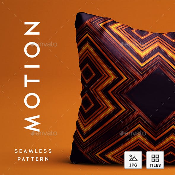 Motion Abstract Seamless Pattern - Background