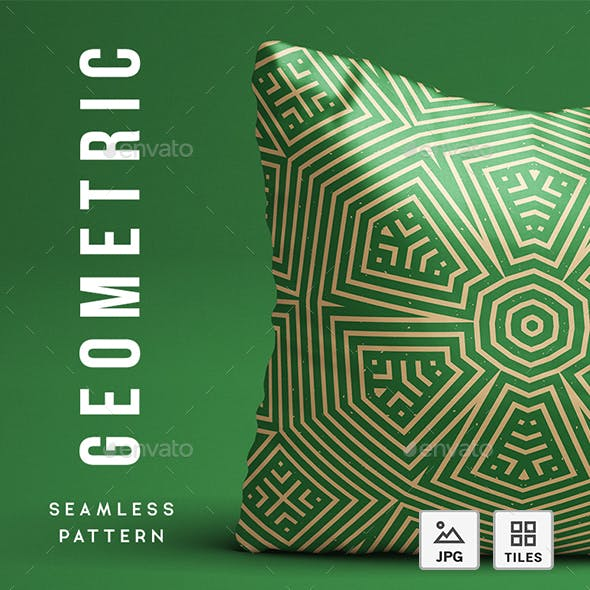 Geometric Abstract Seamless Pattern - Background