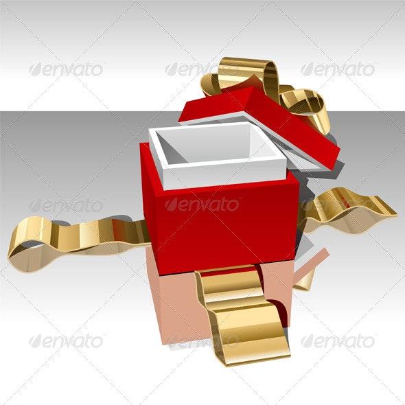 Gift Box - Miscellaneous Vectors