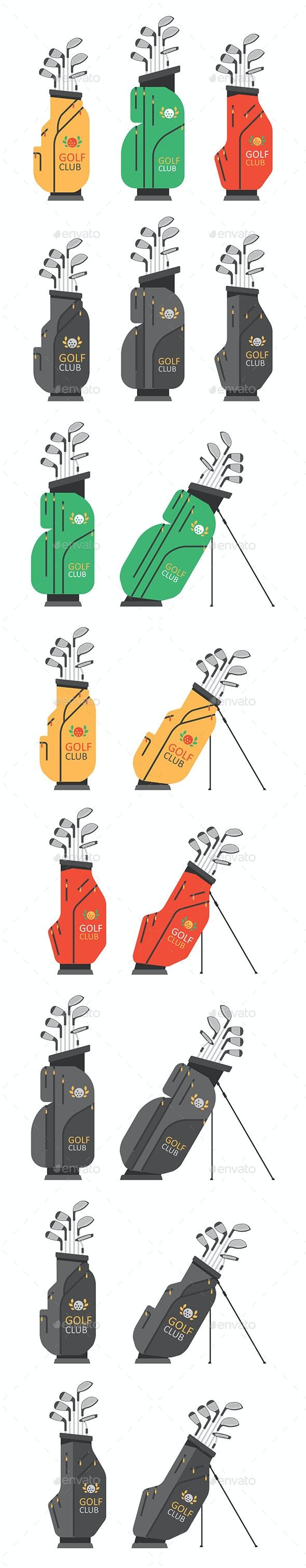Golf bag - Sports/Activity Conceptual