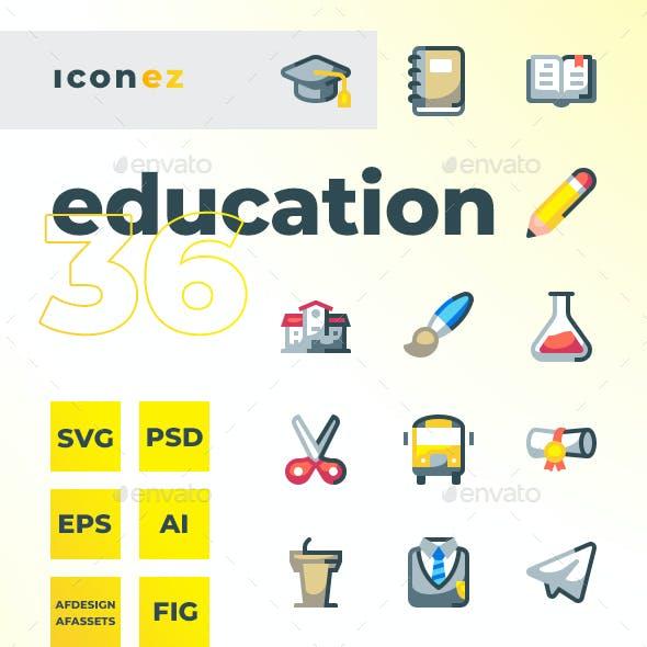 Iconez - Education Icons