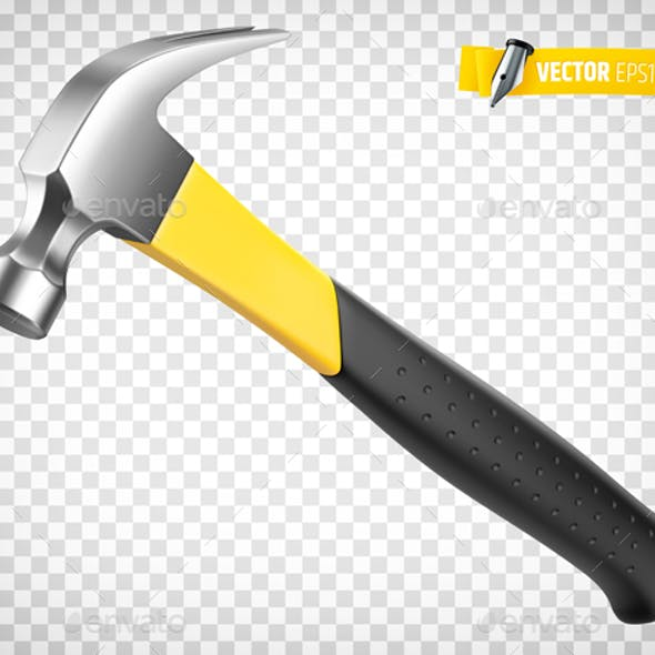 Vector Realistic Hammer