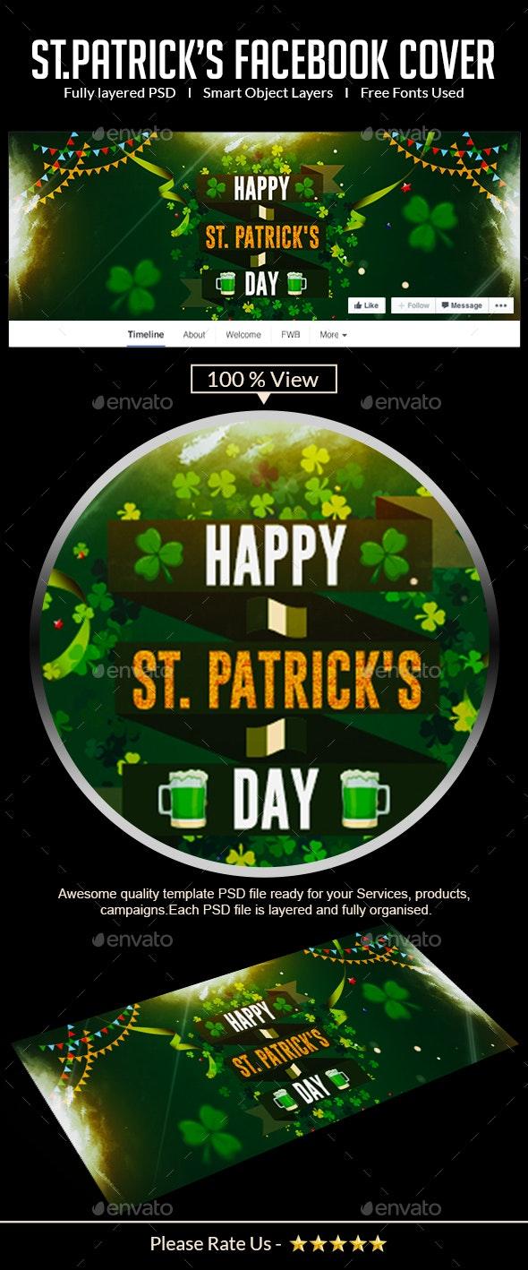 St.Patricks Day Facebook Cover - Facebook Timeline Covers Social Media