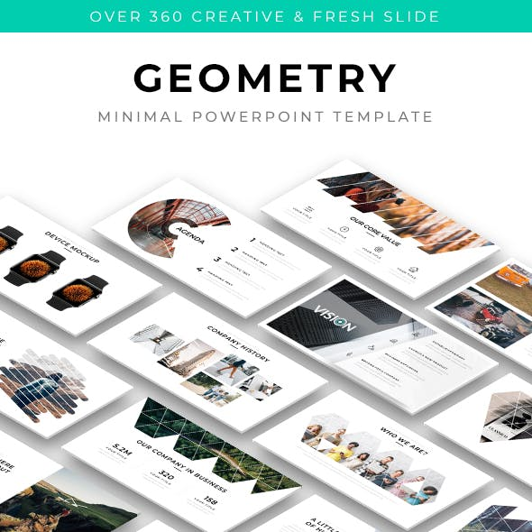 Geometry - Minimal Powerpoint Template