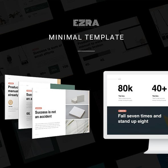 EZRA Business Template (PPTX)