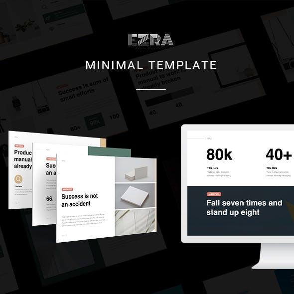 EZRA Business Template (Googleslide)