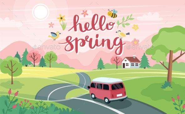 Spring Road Trip - Landscapes Nature
