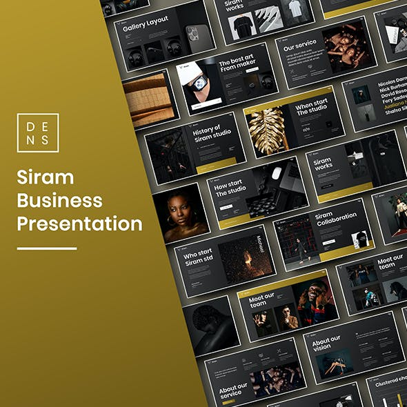 Siram – Business PowerPoint Template